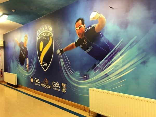 Kingscourt GAA Handball wall print